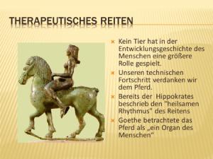 Warum das Pferd?